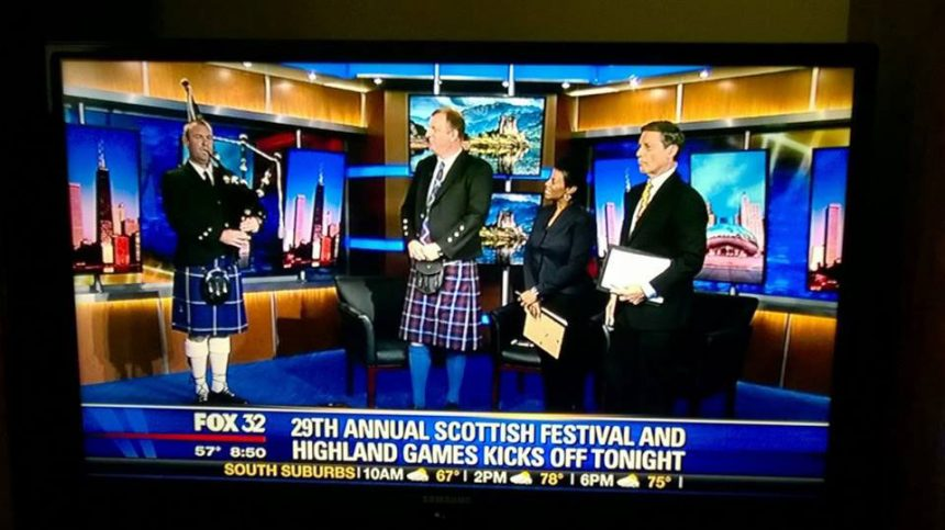 Chicago News Bagpiping