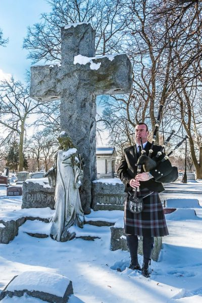 A bagpiper is one of the most fitting ways to provide an emotional and meaningful send off for a loved one.