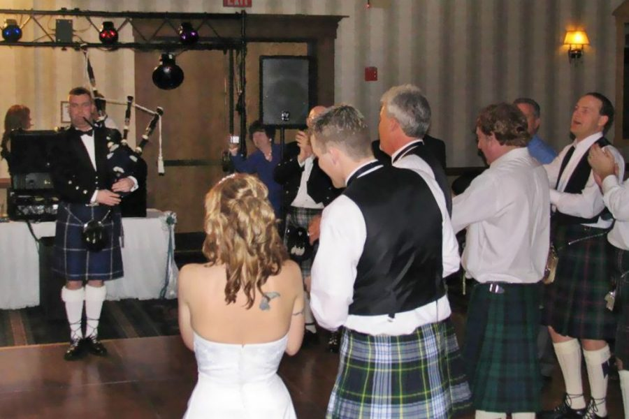 Wedding Reception Bagpiping Service