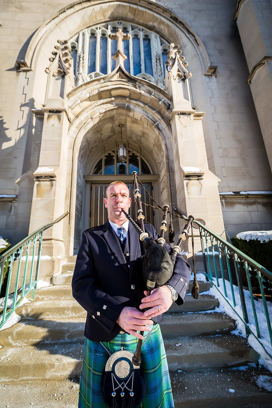 Church Service Bagpiping